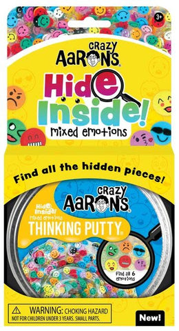 Crazy Aaron's Hide Inside Mixed Emotions Thinking Putty