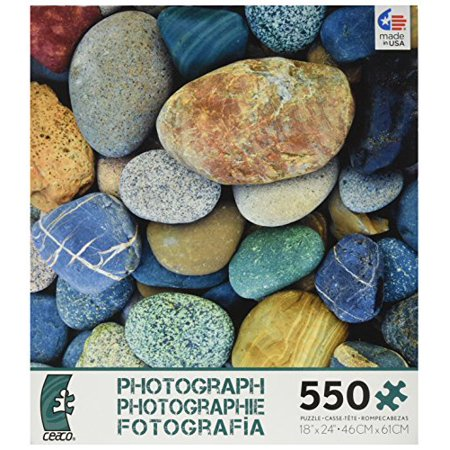 Ceaco Photography Coloured Stones 550 Piece Puzzle