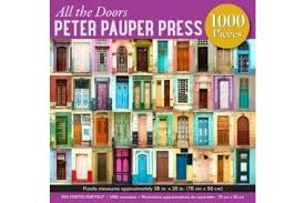Peter Pauper All The Doors Jigsaw Puzzle 1000pc