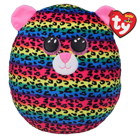 Squish a Boo: Dotty the Leopard