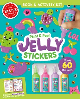 Paint & Peel Jelly Stickers