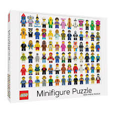 LEGO Minifigure Jigsaw Puzzle 1000pc