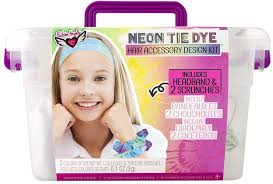 Tie Dye Scrunchies & Headband Design Crate