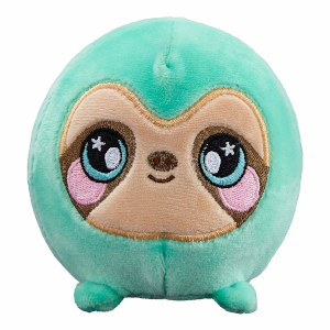 "Squeezamals Series 2 Samantha the Sloth 3.5"" Scented Plush"