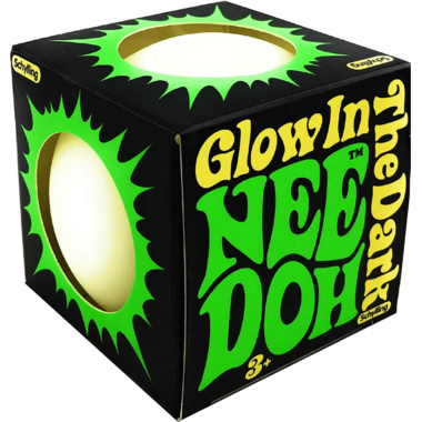 Nee Doh Glow In The Dark Stress Ball