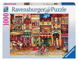 Ravensburger Streets Of France 1000 Piece Puzzle