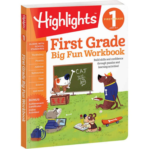 Big Fun First Grade Workbook