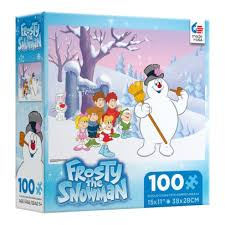 Ceaco Frosty the Snowman 100 Piece Puzzle