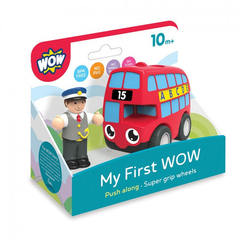My First WOW London Bus Basil