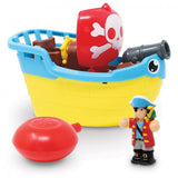 Pip the Pirate Ship Bath Toy with Squirting Canon