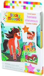 Sticky Mosaics Travel Pack: Horses