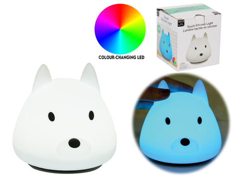 LED Silicone Touch Light - Dog