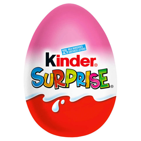 Kinder Surprise Pink Chocolate Egg
