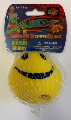 Inside Out Smiley Stretch Ball