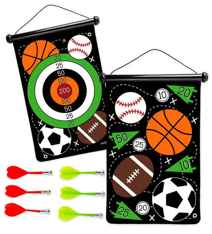 Double-Sided Magnetic Sports Dart Game