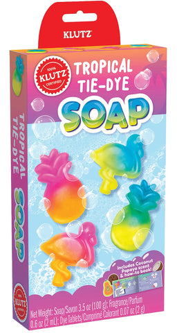 Tropical Tie-Dye Soap