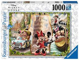 Ravensburger Vacation Mickey & Minnie 1000 Piece Puzzle