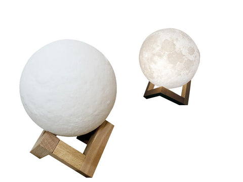 3D Touch Moon Lamp