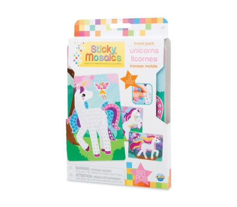 Sticky Mosaics Travel Pack: Unicorns