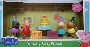 "Peppa Pig Birthday Party Friends 3"" Figure 4pack"