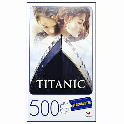 Titanic Blockbuster VHS Puzzle 500pc