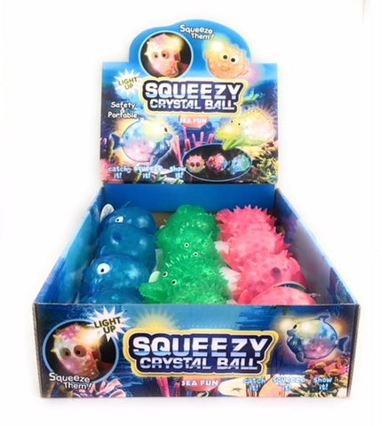 Squeezy Crystal Ball Sea Fun Assorted