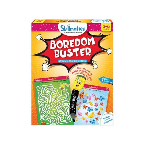 Boredom Buster - Write & Wipe Activity Mats