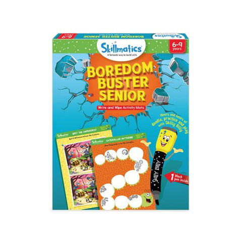 Boredom Buster Senior - Write & Wipe Activity Mats