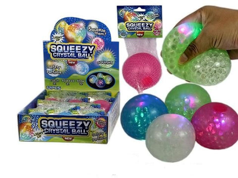 Light Up Squeezy Crystal Ball