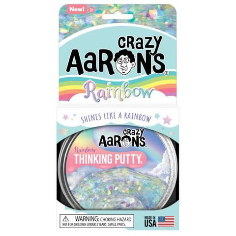 Crazy Aaron's Trendsetters Rainbow Thinking Putty