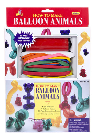 Balloon Animals How To Make Balloon Animals Kit