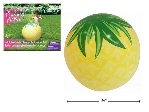 Inflatable Jumbo Pineapple Sprinkler Ball