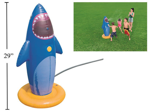 Inflatable Shark Sprinkler