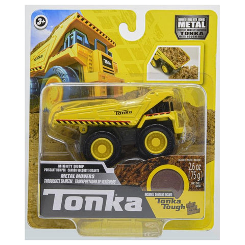 Tonka Metal Movers Single Packs - Front Loader/Bulldozer/Dump Truck