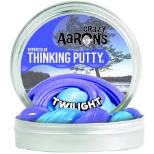 Crazy Aaron's Twilight Heat Sensitive Hypercolour Thinking Putty