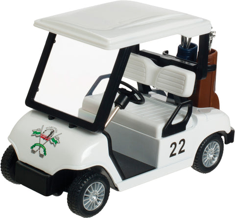 Die-Cast Metal Golf Cart