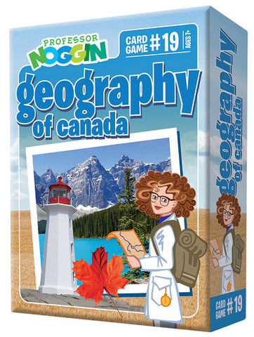 Professor Noggin's #19 Geography of Canada