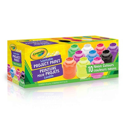 Crayola Washable Project Paint Neon