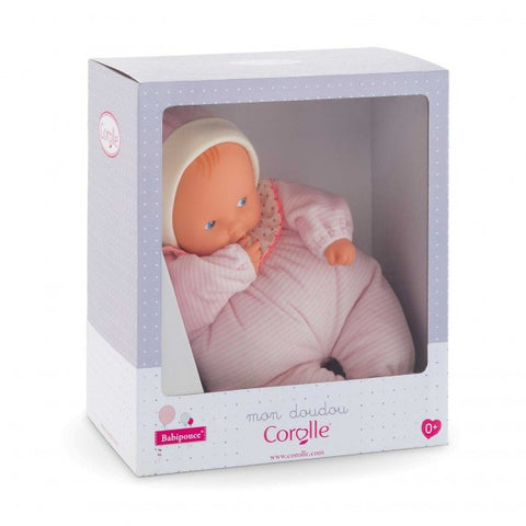 Corolle Babipouce Pink Striped Baby Doll