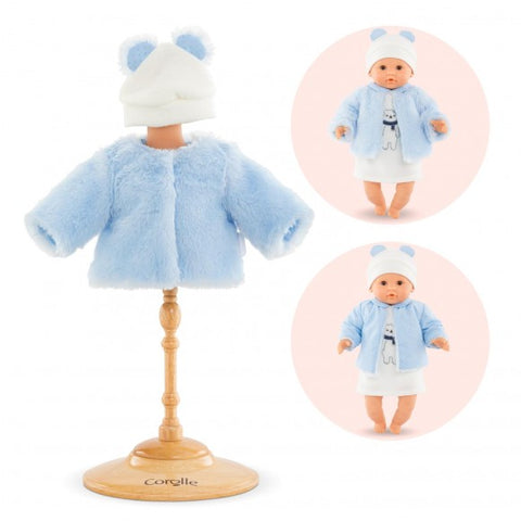 Corolle Coat - Winter Sparkle for 12-inch Baby Doll