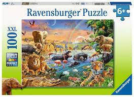 Ravensburger Waterhole 100 Piece Puzzle