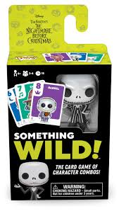 Something Wild Nightmare Before Christmas Card Game