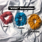 "Load image into Gallery viewer, ""NYGC"" Scrunchie Small"