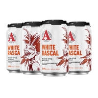 Avery White Rascal Belgian-style Wheat Ale with Curacao Orange Peel