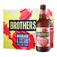 Brothers Rhubarb & Custard English Dessert Cider