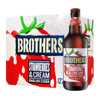Brothers Strawberries & Vanilla Cream English Cider