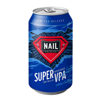 Nail Super VPA Imperial IPA with Lemon & Lime Rind (It's Superbeer!)