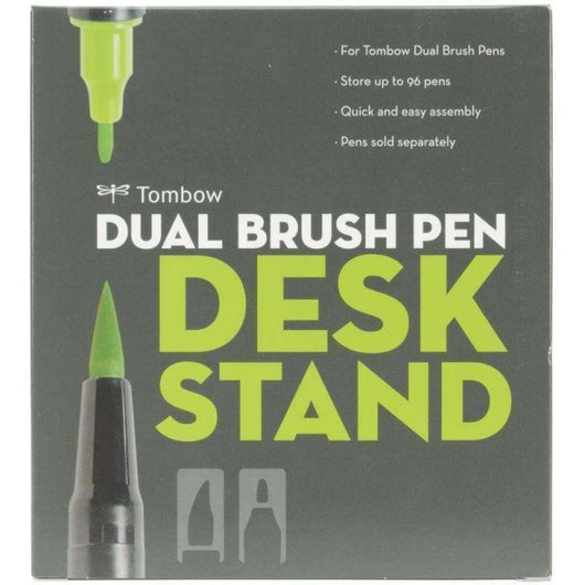 Tombow Dual Brush Marker Desk Stand - Empty Holds 96 - A Plus Craft
