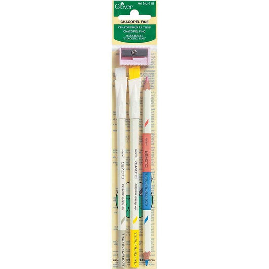 Clover Chacopel Fine 3/Pkg Assorted Colors - A Plus Craft