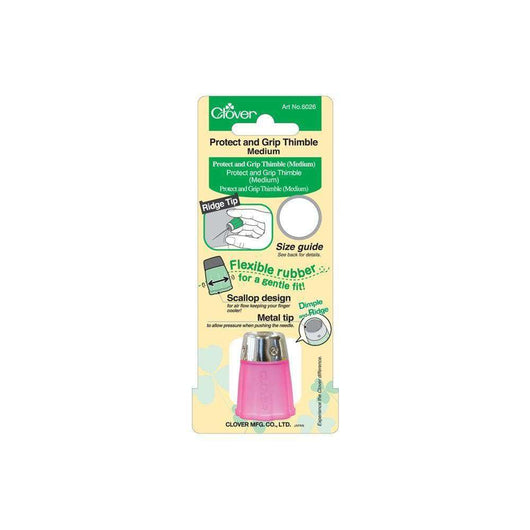 Clover Protect & Grip Thimble Medium - A Plus Craft